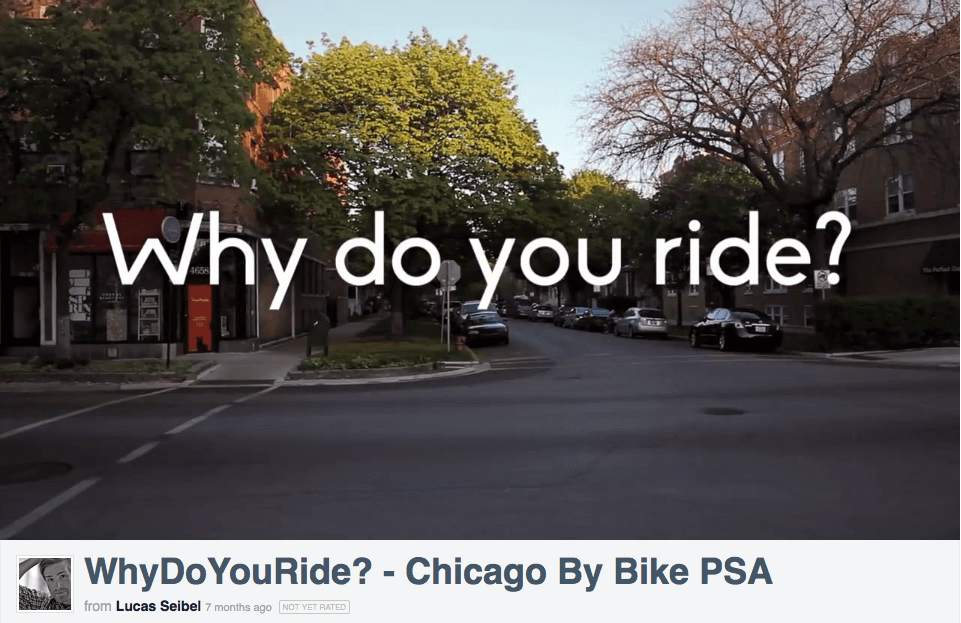 Why Do You Ride PSA
